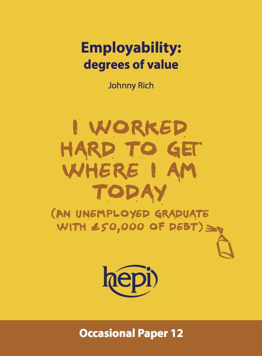 hepi employability degrees of value hepi share this story choose your platform